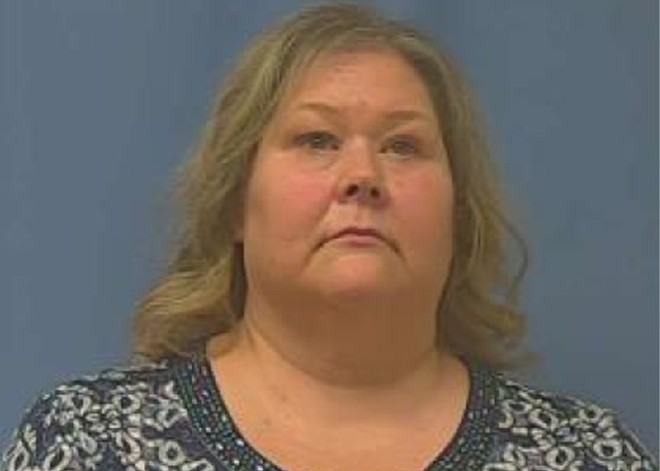 Tracey Ray was arrested on assault charges in November 2019. - RALLS COUNTY SHERIFF
