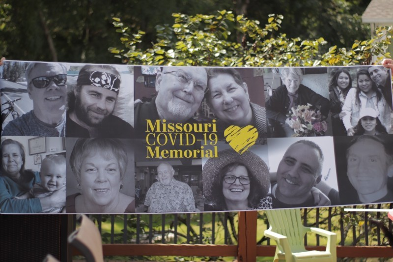 The Missouri COVID-19 Memorial helps document, at human level, the loss. - STEVEN DUONG