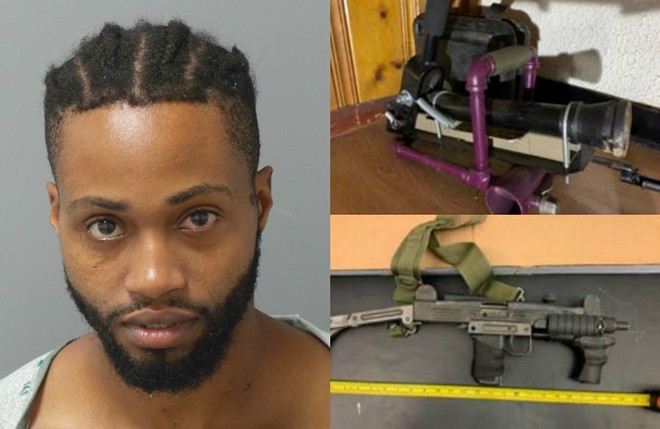 Marc Harold Taylor is facing state and federal charges after he shot at two cops on September 14. - SLMPD/USAMOE