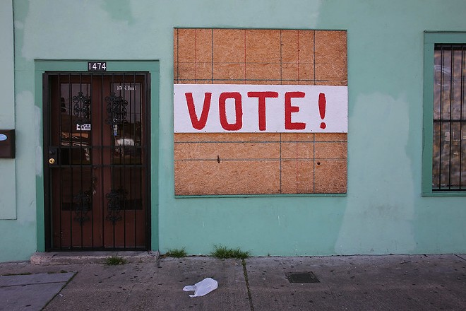 See you at the polls, STL. - PAUL SABLEMAN / FLICKR