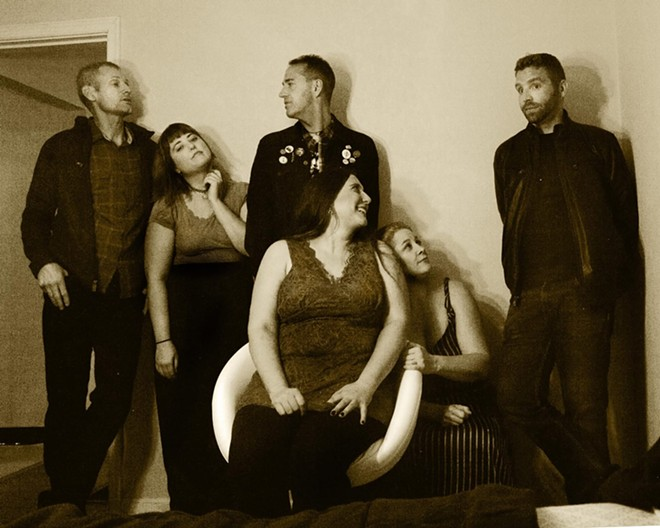 The Defeated County will celebrate the release of its new LP, An Early Fall, at Off Broadway this Friday. - KIT KELLISON