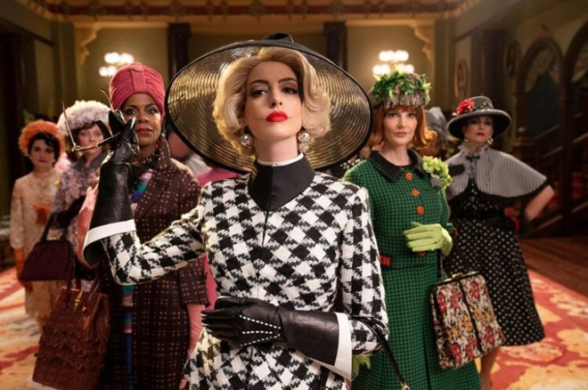 Anne Hathaway stars at the Grand High Witch in the new The Witches - PHOTO: COURTESY HBO MAX