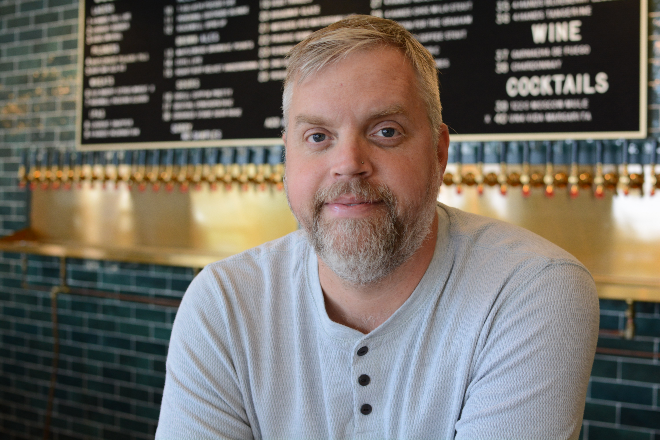 Finding ways to connect with his guests at 9 Mile Garden and Guerrilla Street Food is what gets Brian Hardesty through these challenging times. - ANDY PAULISSEN