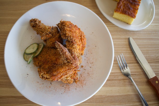 Fried chicken is a specialty at BEAST Southern Kitchen & BBQ. - CHERYL BAEHR