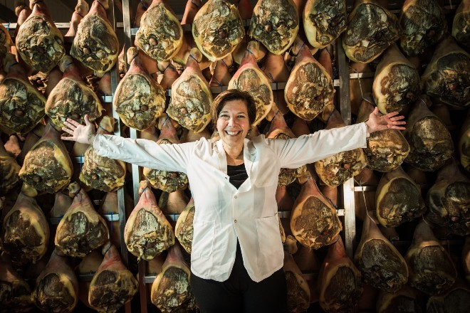 Lorenza Pasetti is excited to lead Volpi Foods, and even more excited about prosciutto. - COURTESY OF VOLPI FOODS
