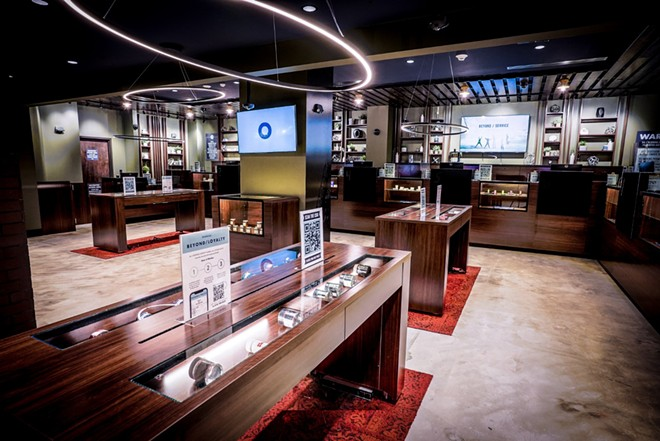 It kind of looks like a nice jewelry shop. - COURTESY JUSHI HOLDINGS INC.