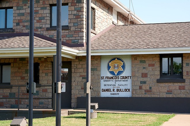 St. Francois County Jail. - MICHAEL THOMAS FOR THE MARSHALL PROJECT