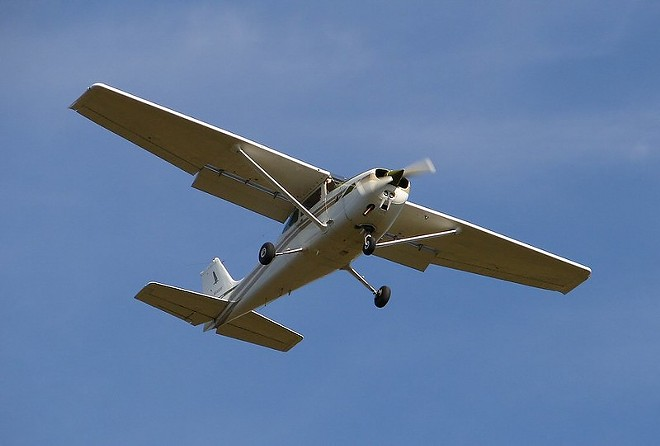 St. Louis is considering a spy plane program that would surveil the city from the air. - FLICKR/CORY W. WATTS