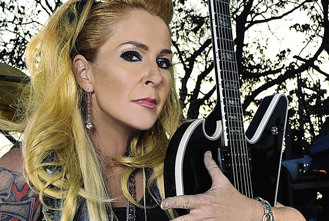 Lita Ford is just one of the '80s artists who will perform as part of the event. - TYLER CLINTON