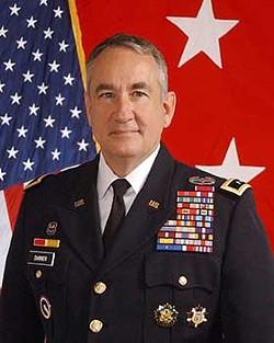 Stephen L. Danner, retired Mayor General and former Adjutant General of the Missouri National Guard. - NATIONAL GUARD