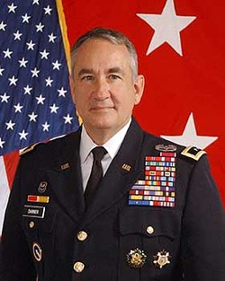 Stephen L. Danner, retired Mayor General and former Adjutant General of the Missouri National Guard. - NATIONAL GUARD