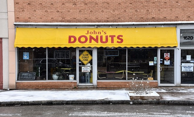 John's Donuts ditched the late nights. - DOYLE MURPHY