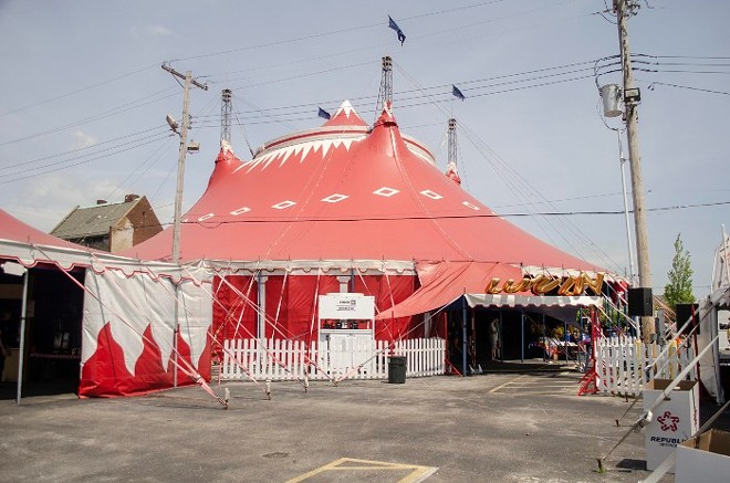 The Big Top is coming back. - COURTESY OF KRANZBERG ARTS FOUNDATION