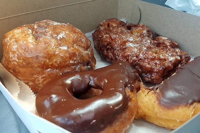 The Donut Stop can't stop, won't stop serving the best doughnuts in Missouri, says Food & Wine. - DANNY WICENTOWSKI
