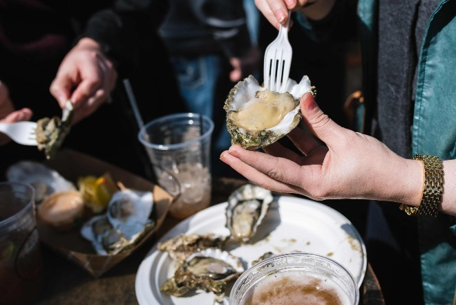 Schlafly's retooled Stout and Oyster Festival provides a safe, socially-distant way to partake in the fun. - SPENCER PERNIKOFF