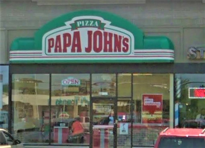 A St. Ann's Papa John's is at the center of a lawsuit alleging racism. - GOOGLE MAPS