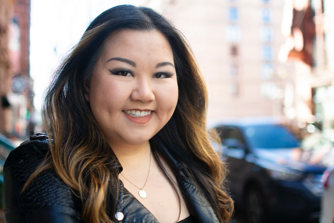With Sandoshack, Amy Guo is realizing her dream of being an entrepreneur. - ANDY PAULISSEN