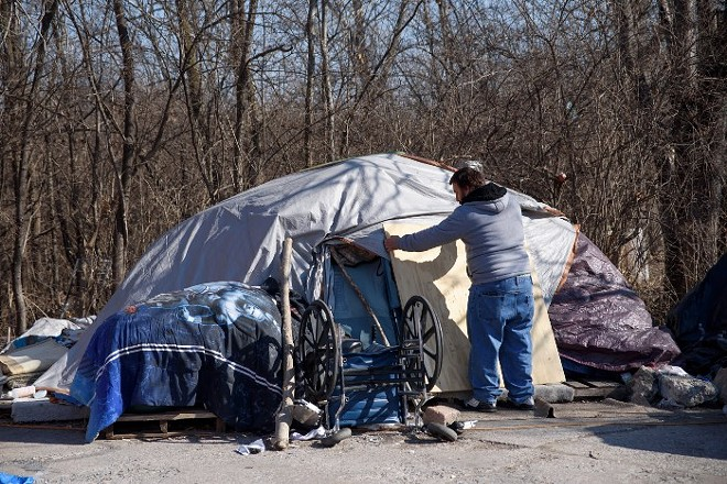 Homelessness increased in 2020, and it's being felt across the St. Louis metro. - NICK SCHNELLE