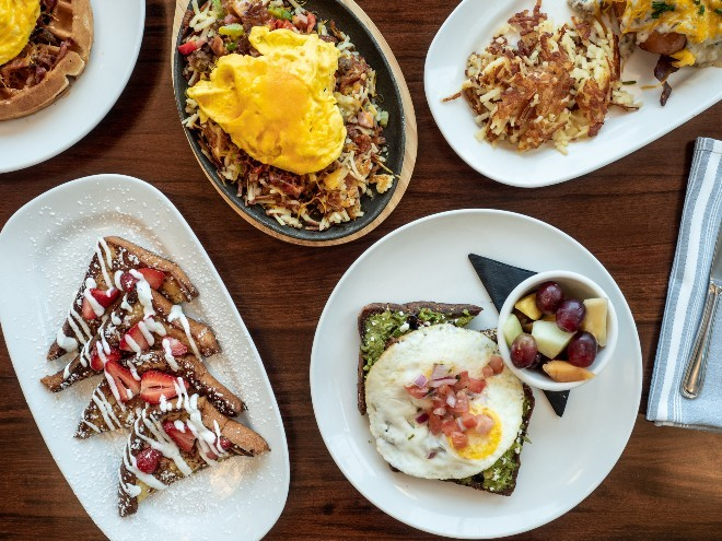 Both breakfast fare and new nighttime offerings are on the menu at the new location of Kingside Diner. - COURTESY OF KINGSIDE DINER