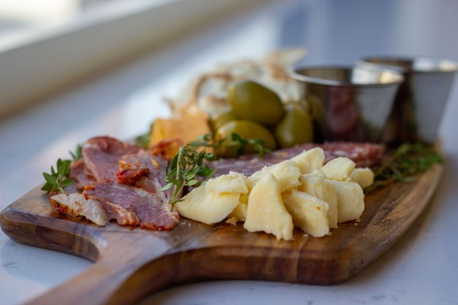 The Butcher's Board is one of Kingside's new nighttime menu items. - COURTESY OF KINGSIDE DINER