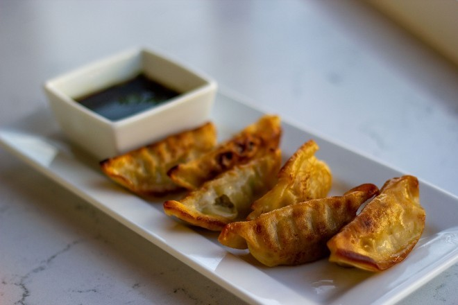Potstickers are one of the restaurant's new nighttime appetizers. - COURTESY OF KINGSIDE DINER