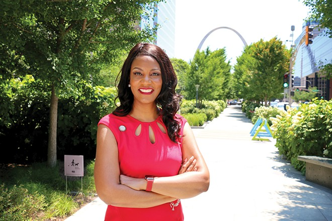 St. Louis Treasurer Tishaura Jones was elected mayor. - COURTESY TISHAURA JONES