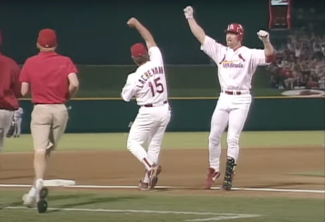 The St. Louis Cardinals have had some good days. - SCREENSHOT MLB/YOUTUBE.COM