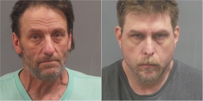 Timmy Miller (left) helped Jason Isbell hide the body of a missing murdered St. Louis man, authorities say. - COURTESY JEFFERSON COUNTY SHERIFF