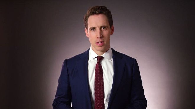 Josh Hawley is no fan of America's pastime when there's money to be made off of outrage. - SCREENSHOT VIA YOUTUBE