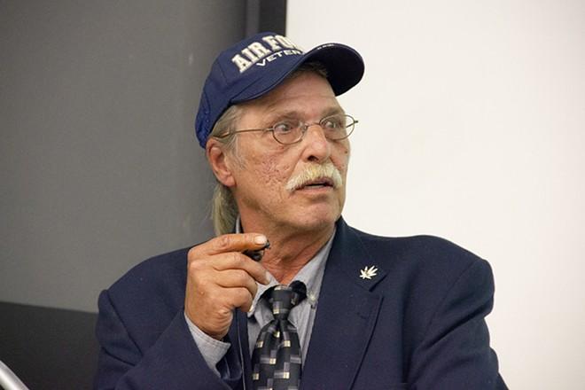 Jeff Mizanskey has become an advocate for those still stuck in prison for marijuana. - DANNY WICENTOWSKI