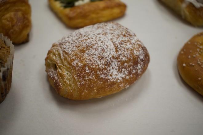 A chocolate croissant. - CHERYL BAEHR