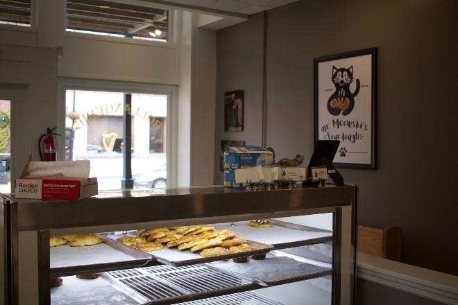 Inside the bakery. - CHERYL BAEHR