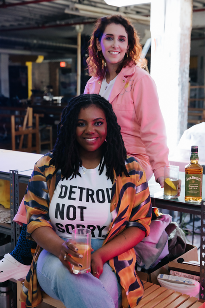 Not Sorry Goods Co-Founders Jess Minnic & Dy-Min Johnson @notsorrygoods  / PHOTO CREDIT: Tristan Oliver @topshottah