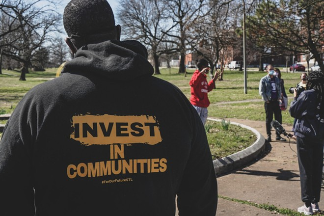 Action St. Louis, a grassroots advocacy organization, now employs eight people. This spring, Reed says they knocked on 25,000 doors, made more than 230,000 calls and sent 100,000 text messages to try and get Tishaura Jones elected as mayor of St. Louis. - LAWRENCE BRYANT