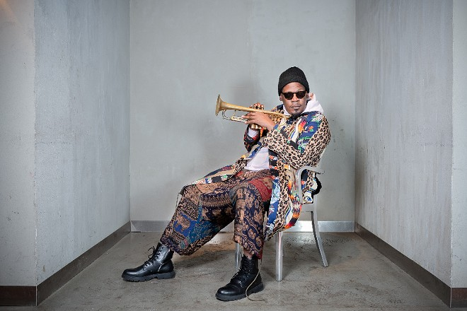 Ferguson-raised jazz trumpeter Keyon Harrold, a first-call session musician for a slew of top-name hip-hop artists, is one of many acts slated for the festival. - YUKI TEI