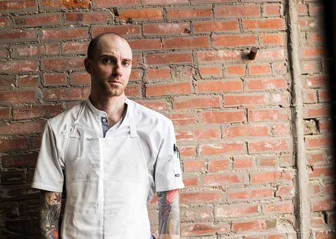 Chef Logan Ely keeps it interesting at Lucky Accomplice, even after other restaurants have closed their kitchens. - MABEL SUEN