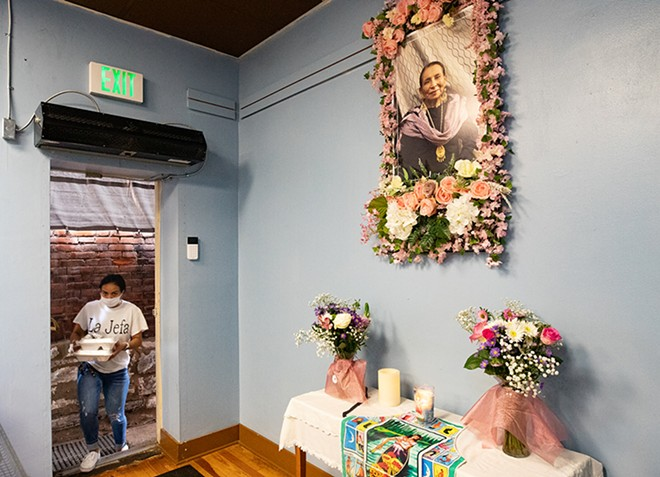 The family of Heriberta Amescua keeps her legacy alive with authentic birria tacos. - MABEL SUEN