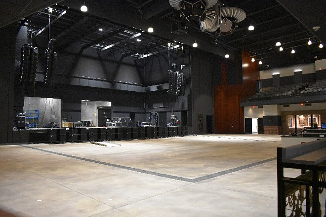 The Factory's floor will remain open for some shows and include seating for others. - DANIEL HILL