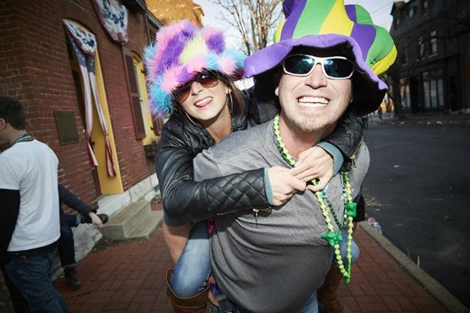 Mardi Gras is back. - PHOTO BY STEVE TRUESDELL.