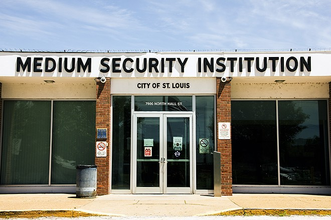 The Workhouse, also known as the Medium Security Institution, will only host overflow inmates. - DANNY WICENTOWSKI
