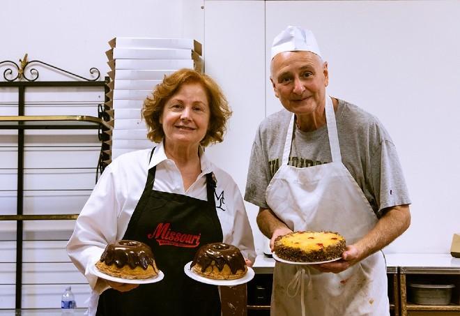 Mimi Lordo and Chris Gambero are the third generation of the Gambaro family to run Missouri Baking Co. - NYARA WILLIAMS