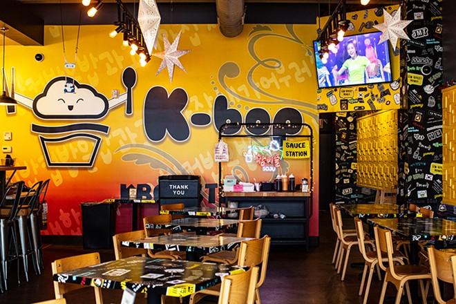 The new spot includes K-Bop's familiar mascot. - MABEL SUEN