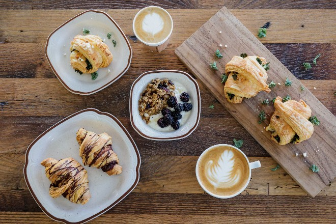 Gather, a neighborhood cafe, aims to expand the Urban Fort concept to a broader swath of its McKinley Heights neighborhood. - BREA YOUNGBLOOD