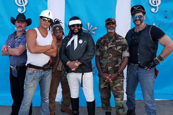 The Village People are coming to town. - PHOTO COURTESY VILLAGE PEOPLE