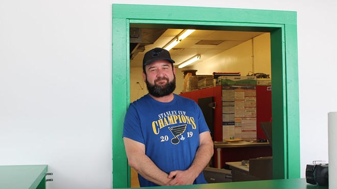 Jason Guliano is the owner of That'sa Nice'a Pizza. - JENNA JONES
