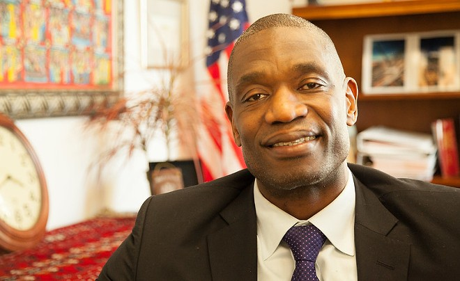 Ex-NBA star Dikembe Mutombo is making Northwest Coffee Roasting Company in St. Louis his first cafe partner for his coffee line. - BUREAU OF EDUCATIONAL AND CURRENT AFFAIRS