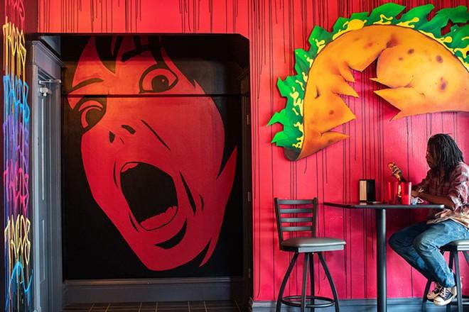 Terror Tacos is frighteningly good. - MABEL SUEN