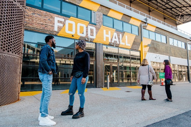 After years of anticipation, the Food Hall at City Foundry will finally open to the public on August 11. - COURTESY OF CITY FOUNDRY