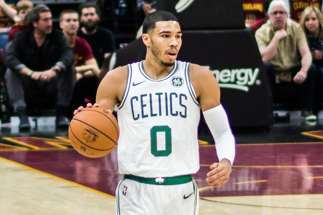 Tatum on the basketball court. -  ERIK DROST / FLICKR