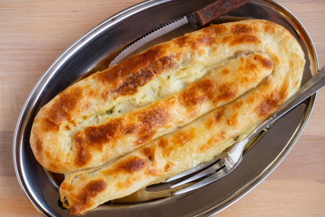 J's Pitaria is launching a line of frozen Bosnian pita that will be available for pick-up at their Affton restaurant. - COURTESY OF J'S PITARIA